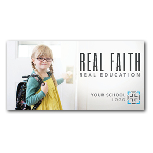 Real Faith XLarge Postcards