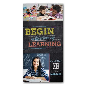 "Lifetime of Learning 11"" x 5.5"" Oversized Postcards"