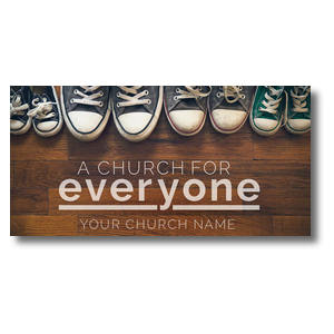 Everyone Shoes XLarge Postcards