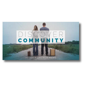 Discover Community People XLarge Postcards
