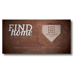 "Find Home 11 x 5.5 Oversized Postcard 11"" x 5.5"" Oversized Postcards"