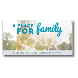 For Family XLarge Postcards