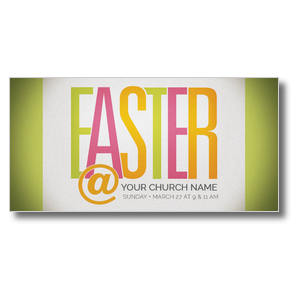Easter At Bright Church Postcards