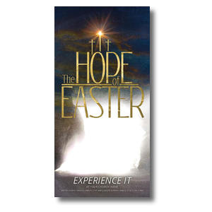 The Hope of Easter Empty Tomb XLarge Postcards
