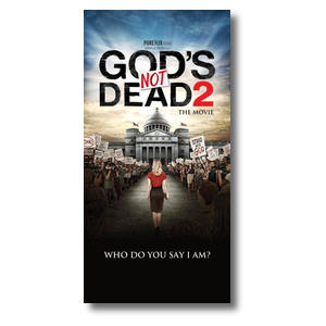 "Gods Not Dead 2 XLarge Postcard 11"" x 5.5"" Oversized Postcards"