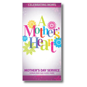 A Mothers Heart XLarge Postcards
