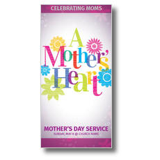 A Mothers Heart XLarge Postcard