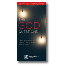 God Questions XLarge Postcard