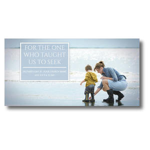 "Mother's Day Seek 11 x 5.5 11"" x 5.5"" Oversized Postcards"