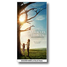 Miracles from Heaven XLarge Postcard