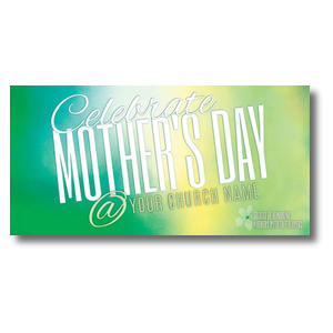 "Mother's Day At 11 x 5.5 Oversized Postcard 11"" x 5.5"" Oversized Postcards"