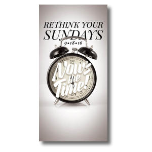Nows the Time Clock BTCS XLarge Postcards