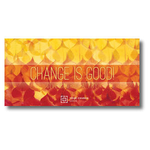 Change Is Good XLarge Postcards