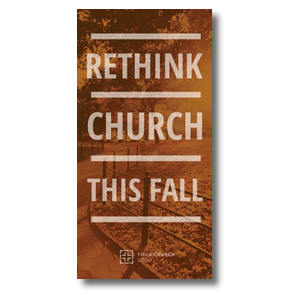 Rethink Church XLarge Postcards