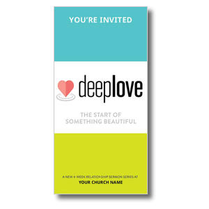 Deep Love XLarge Postcards