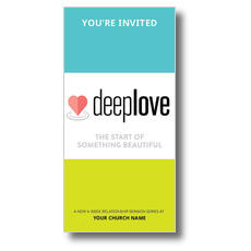 Deep Love XLarge Postcard