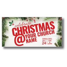 Christmas At XLarge Postcard