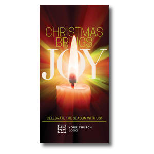 Joy Candle XLarge Postcards