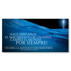 2000 Years Ago Spanish XLarge Postcard