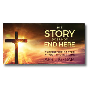 "Cross Story 11"" x 5.5"" Oversized Postcards"