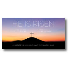 He Is Risen Sunrise XLarge Postcard