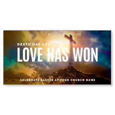 Love Has Won XLarge Postcard
