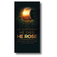 Suffered Died Rose XLarge Postcard