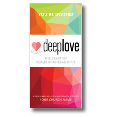 Deep Love Color XLarge Postcard
