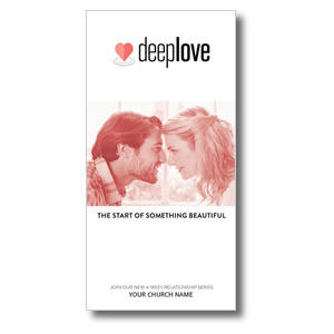 Deep Love Couple XLarge Postcards