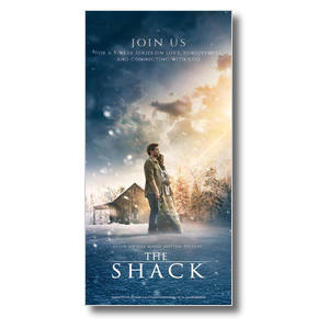 "The Shack Movie 11"" x 5.5"" Oversized Postcards"