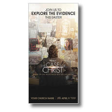 The Case for Christ Movie Church Postcard