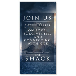 The Shack Movie Blue XLarge Postcards