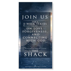 The Shack Movie Blue XLarge Postcard