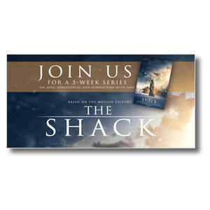 The Shack Movie Clouds XLarge Postcards