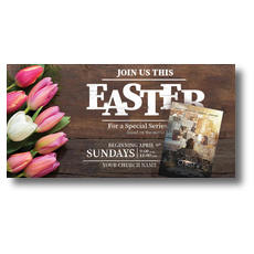 The Case for Christ Easter XLarge Postcard