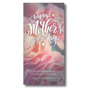 "Mothers Day Flowers 11"" x 5.5"" Oversized Postcards"