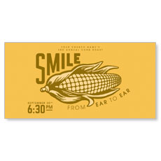 Ear to Ear Smile XLarge Postcard