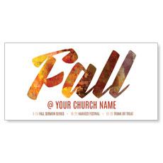 Fall Colors XLarge Postcard
