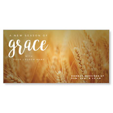 Grace Wheat XLarge Postcard