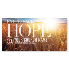 Hope Wheat Field XLarge Postcard