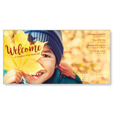 Leaf Kid XLarge Postcard