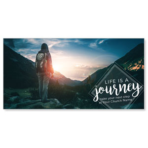 Mountains Journey XLarge Postcards