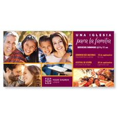 Para La Familia Spanish XLarge Postcard