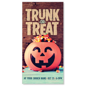 Trunk or Treat XLarge Postcards