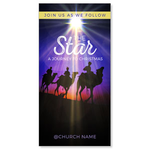 "The Star: A Journey to Christmas 11"" x 5.5"" Oversized Postcards"