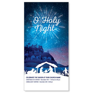 "Bethlehem Blue 11"" x 5.5"" Oversized Postcards"