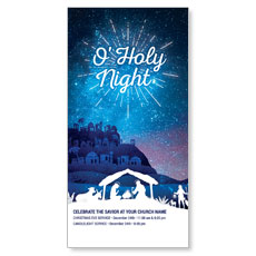 Bethlehem Blue XLarge Postcard