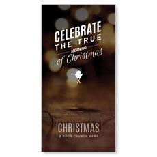 Celebrate True Meaning XLarge Postcard