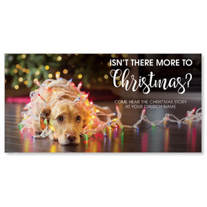 Dog More to Christmas XLarge Postcards