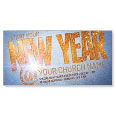 New Year At XLarge Postcard